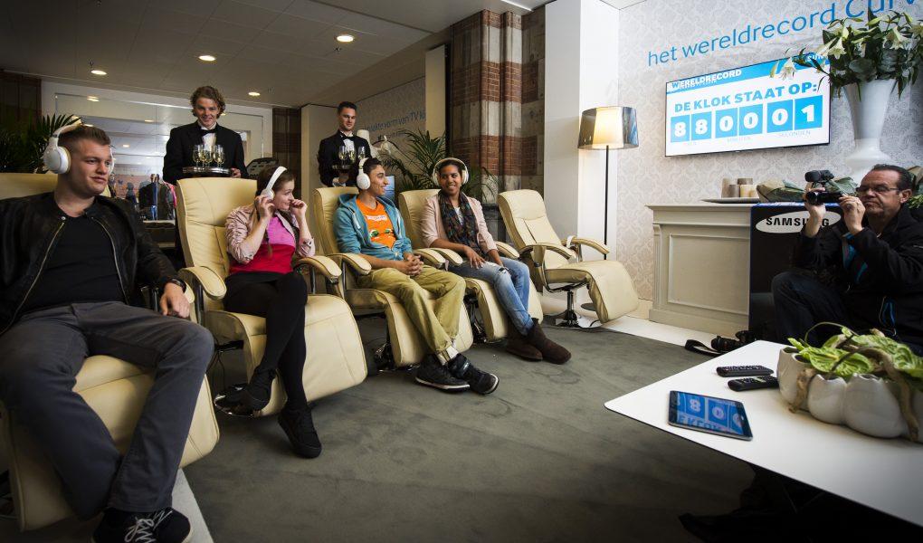 Wereldrecord </br> tv-kijken